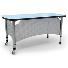 Intuitive Adjustable Height Teacher Desk - 60
