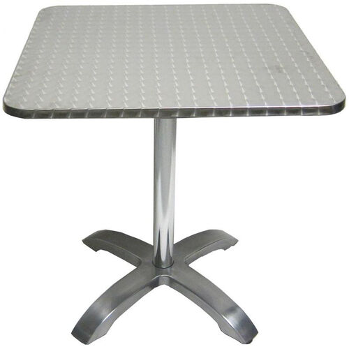 Our Stainless Steel Square Table Top with Aluminum Base is on sale now.