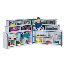 Rainbow Accents Fold-n-Lock Storage Unit