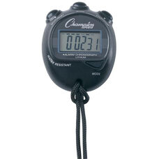 Big Digit Display Stopwatch in Black
