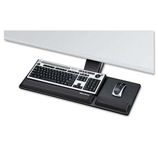 Fellowes® Designer Suites Compact Keyboard Tray - 19w x 9-1/2d - Black