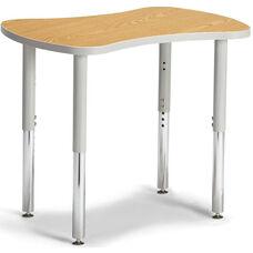 Collaborative Bowtie Table - Oak/Gray