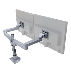 Side by Side LCD Mount Arms with Flexmount