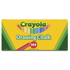 Crayola 510400 Colored Drawing Chalk - 144 Pieces