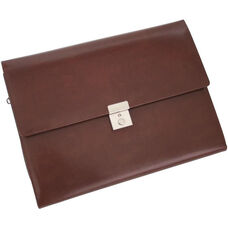 Padfolio File Organizer - Leather - British Tan