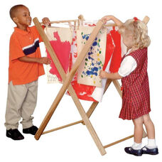 Paint Drying Rack with Tough Multi-Ply Cord - Assembled - 25