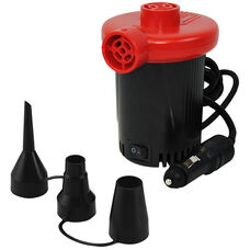 AP-1131 DC Powered Inflatable Air Pump with 3 Valve Adapters and 1.00 PSI