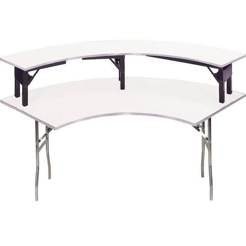 Our Standard Series Crescent Riser with Aluminum Edge and Mayfoam Top - 15