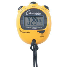 Big Digit Display Stopwatch in Yellow