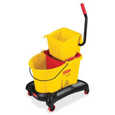 Rubbermaid Commercial Products Commercial WaveBrake Dual Water Combo - 18.1