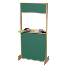 Play Stage with Chalkboard Top and Bottom - Assembled - 24