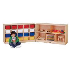 20 Tray Cubbie Fold-n-Locks Storage Unit