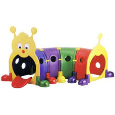 Indoor Outdoor Four Section Bright Colors Gus Climb-n-Crawl Caterpillar