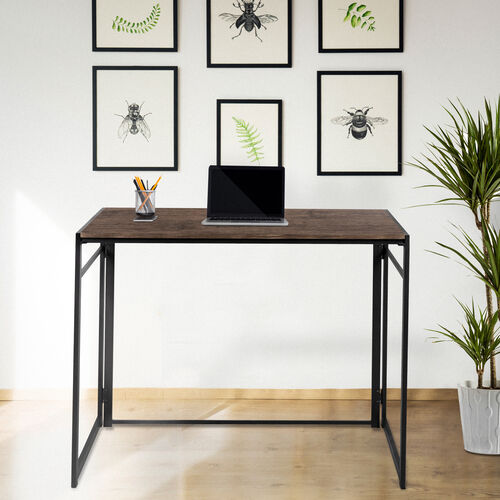 """Our Rustic Home Office Folding Computer Desk - 40"""" is on sale now."""