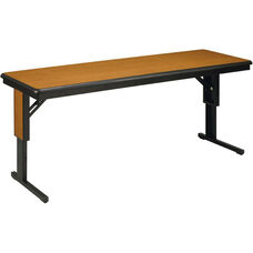 CTLF Series Fixed Height Particleboard Core Training Table - 18