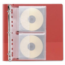 Fellowes Loose-Leaf Cd, Dvd Binder Sheets - Pack Of 10