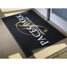 Waterhog Logo Inlay Floor Mat 6' x 8' - Anti Slip