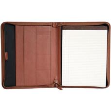 Convertible Zip Around Padholder - Top Grain Nappa Leather - Tan