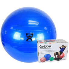 CanDo® Inflatable Blue Exercise Ball - 34
