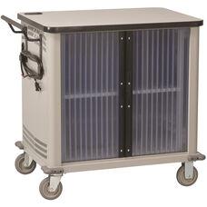 LapTop 20 Capacity UL Approved Cart - Light Gray