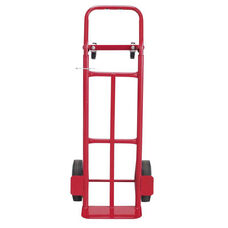 Safco® Two-Way Convertible Hand Truck - 500-600lb Capacity - 18w x 51h - Red