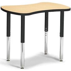 Collaborative Bowtie Table - Maple/Black