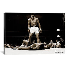 Muhammad Ali Vs. Sonny Liston, 1965 by Unknown Artist Gallery Wrapped Canvas Artwork - 26
