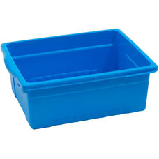 Royal Large Open Environmentally Friendly Tough Plastic Tub - Blue - 15.63''W x 12.56''D x 6''H