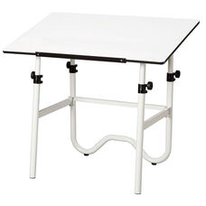Onyx Metal Drawing Table - 36