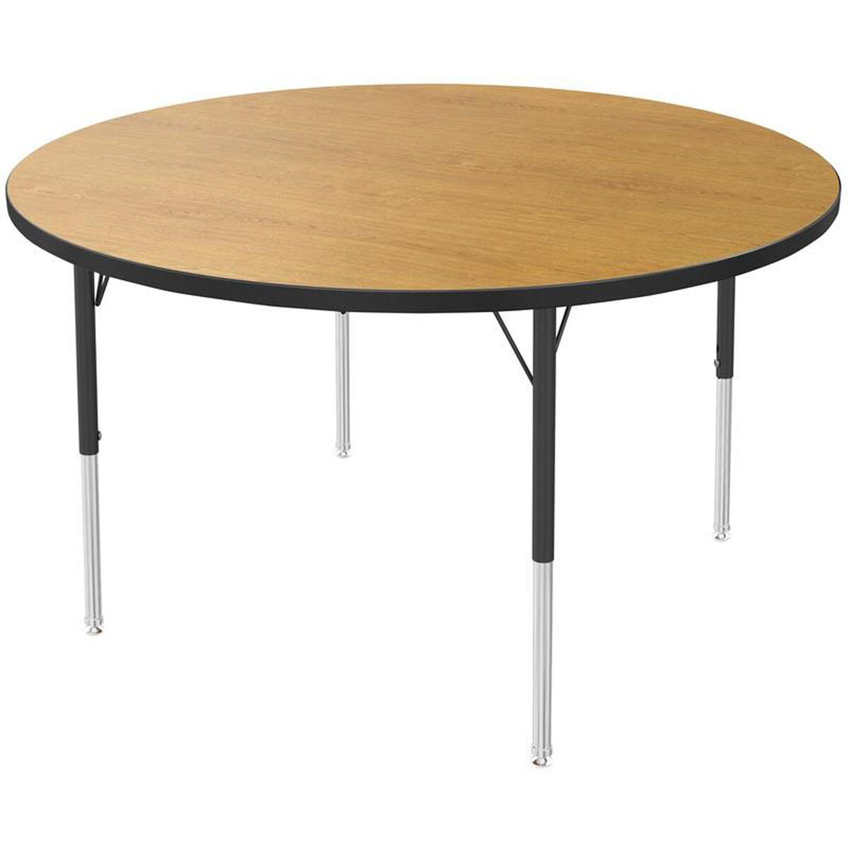 MG Round Kids Activity Table MG2266-49-ABLK   SchoolFurniture4Less.com