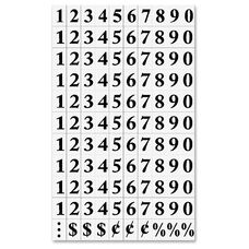 Bi-Silque Magnetic Numbers - Pack Of 120
