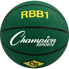 Pro Rubber Basketball Office Size 7 in Green