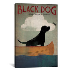 Black Dog Canoe Co. I by Ryan Fowler Gallery Wrapped Canvas Artwork