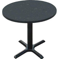 Laminate Top Round Cafe Table with 29