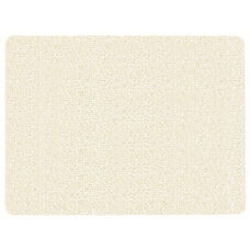 Frameless Burlap Weave Vinyl Display Panel with Radius Corners - White Rice - 18