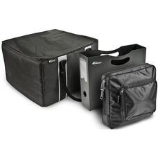 Portable File Tote with One Hanging Portable File Holder and One Tablet Case
