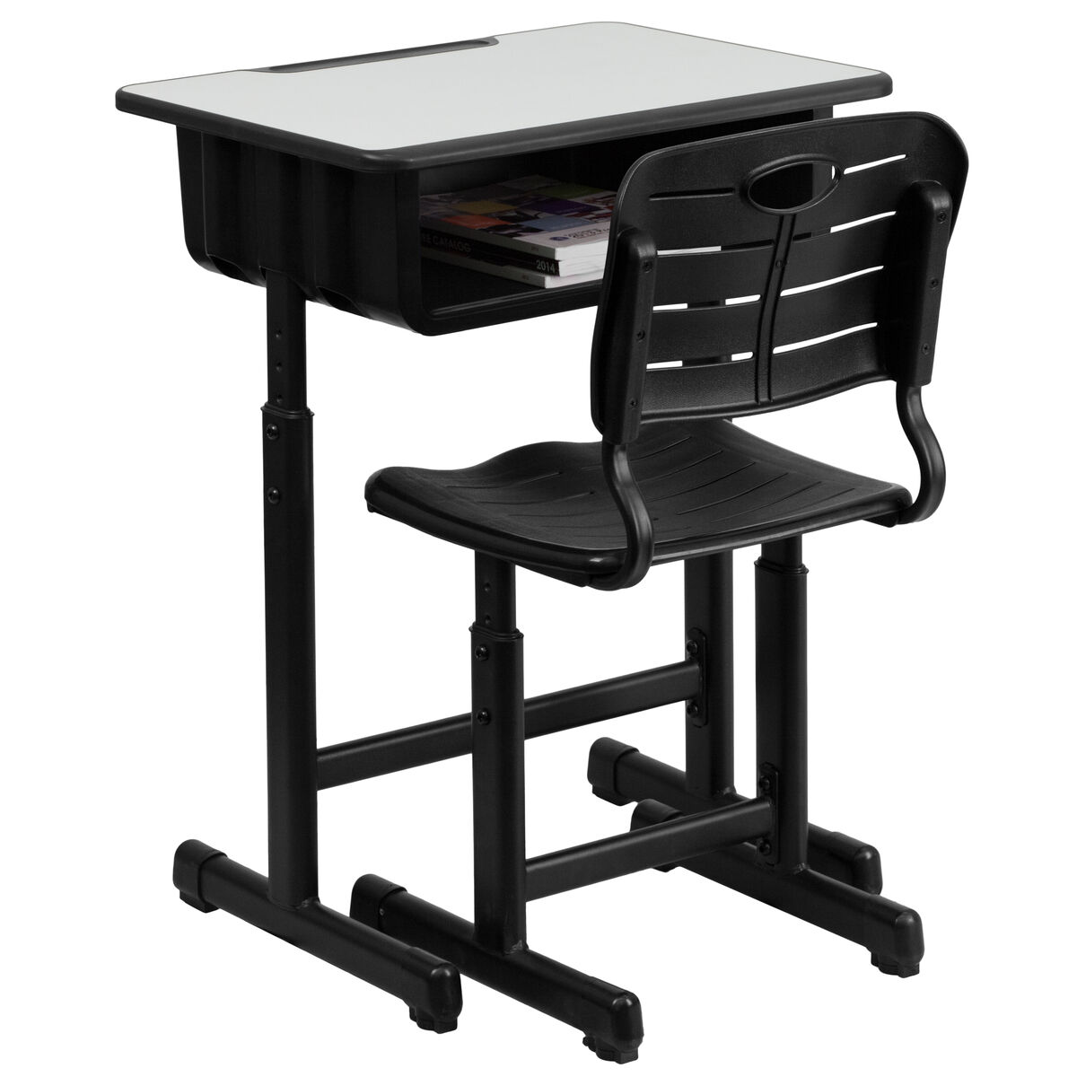 Open Front Desk and Chair YU-YCX-046-09010-GG ...