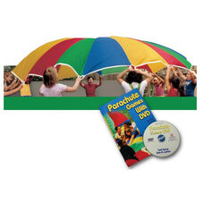 Lightweight Super Strong Nylon Multicolored Panel Parachute