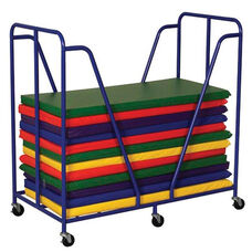 Rest Mat Steel Framed Trolley with Six Casters - 51.2