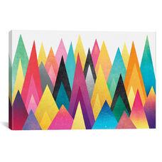 Dreamy Peaks by Elisabeth Fredriksson Gallery Wrapped Canvas Artwork