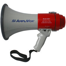 Mity-Meg 15 Watt Megaphone with Wrist Strap and Adjustable Volume - 7.75