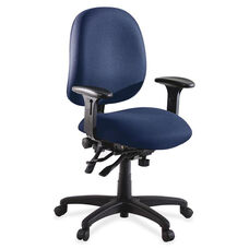 Lorell Chair - High -Performance - 27 -1/4''W x 25 -1/4''L x 41 -1/2H - Blue