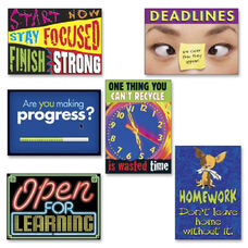Trend Enterprises Assorted Motivation Theme Scholastic Prints
