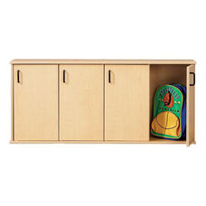 Young Time® Four-Section Stackable Lockers with Doors
