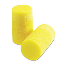 3M E.A.R Classic Plus Earplugs - PVC Foam - Yellow - 200 Pairs