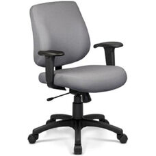 Art Deco Task Chair with Low Backrest - Grade B
