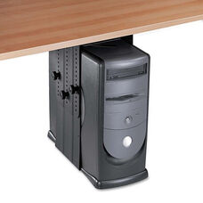 Fellowes® Under Desk CPU Holder - 17w x 12d x 11h - Black