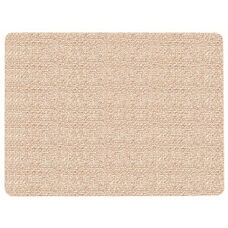 Frameless Burlap Weave Vinyl Display Panel with Radius Corners - Beach - 18