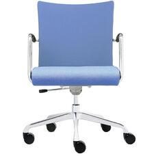 Visita Upholstered Back Swivel Chair