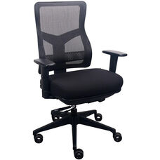 Tempur-Pedic® Spring Task Chair with Mesh Back - Eclipse